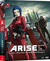 Ghost in the Shell Arise - Films 1 & 2 - Combo [Combo Blu-ray + DVD]