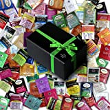 Tea Sampler including Bigelow, Twining, Stash - 90 Different Flavors! In Gift Box (90)