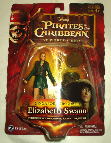 Pirates Of The Carribean 3: Singapore Disguised Elizabeth Swann