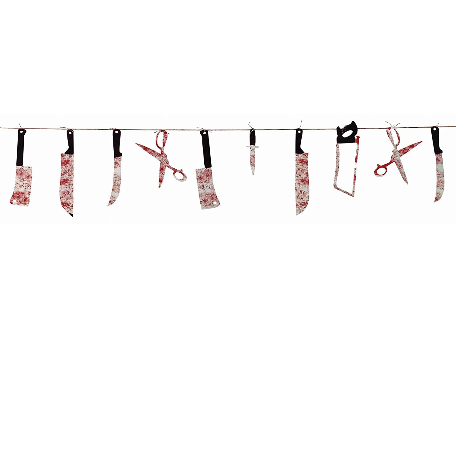 7' Bloody Weapon Garland
