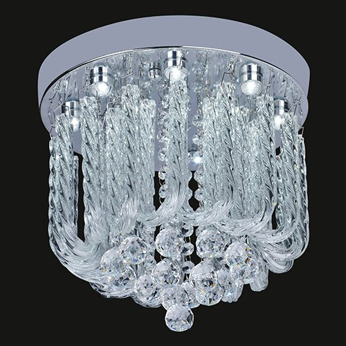Ideal LightInTheBox W LED Ceiling Light in Luxury Crystal Beaded Design Modern Home Ceiling Light Fixture Flush Mount Pendant Light Chandeliers Lighting