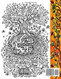A Coloring Book for Adults and Children - Secret Village: Extra Large Edition - Beautiful Underground Houses, Secret Cottages and Garden Hiding Places (The Most Beautiful Coloring Books)