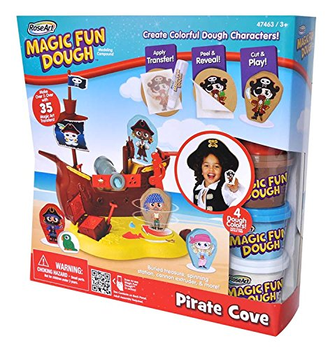 Rose Art Magic Fun Dough-Pirate Cove