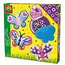 Ses - 06107 - Loisir Créatif - Perles à Repasser - Papillons