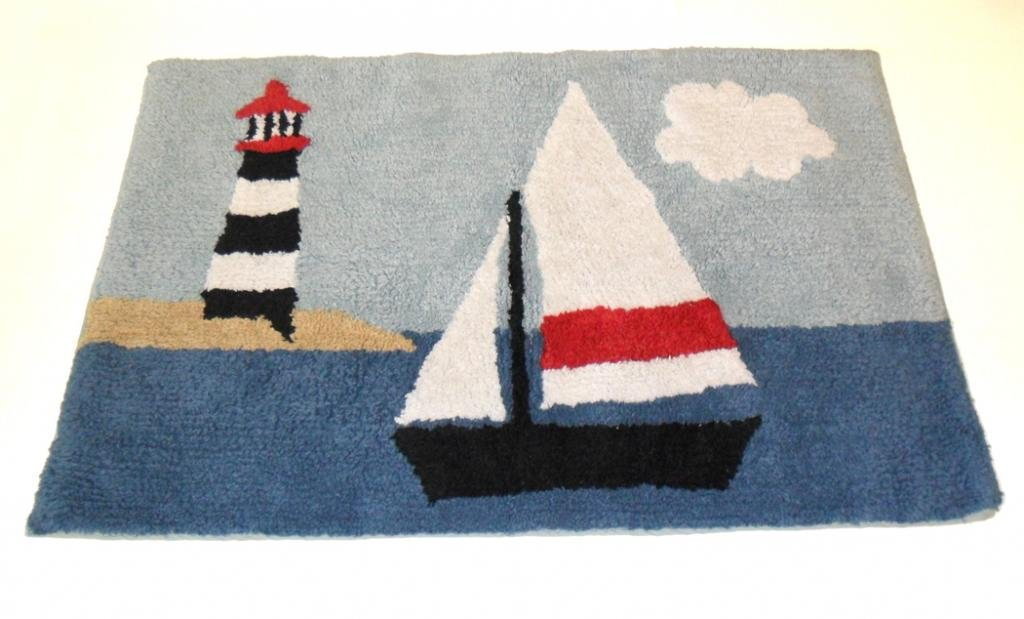 Nautical Rugs For Decorating Home With Beach Theme