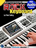 img - for Rock Keyboard Lessons: Teach Yourself How to Play Keyboard (Free Audio Available) (Progressive) book / textbook / text book