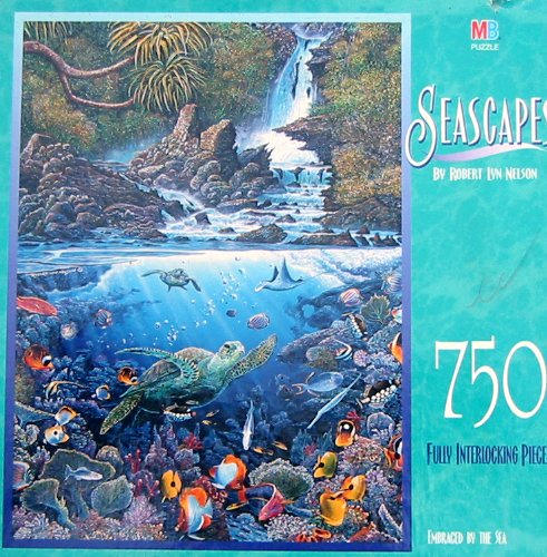 Seascapes 750pc. Puzzle-Embraced by the Sea