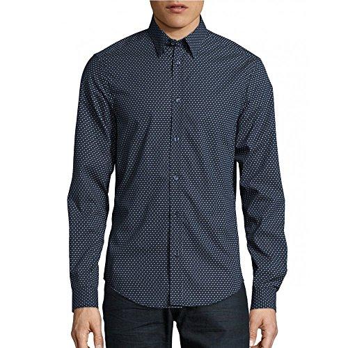 ben-sherman-camicia-casual-uomo-blu-s