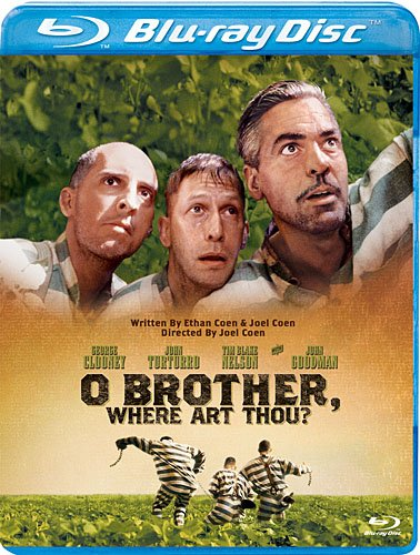 Cover art for  O Brother, Where Art Thou? [Blu-ray]
