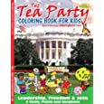 Tea Party Coloring Book (8.5x11)