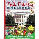 Tea Party Coloring Book (8.5x11) ~ ColoringBook.com