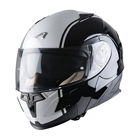 Astone Helmets RT1000GEX-MIDS Casque Modulable RT1000 Midnight Taille S