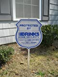 Brinks Security Signs and Stickers