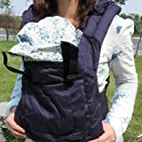 BBCL295 New Dark Blue Front Back Baby Safety Carrier Infant Comfort Backpack Sling Wrap Harness