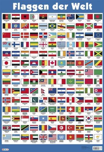 flaggen aller länder der welt