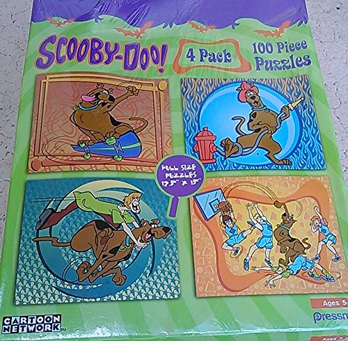Scooby Doo 4 Pack 100 Piece Puzzle - 1