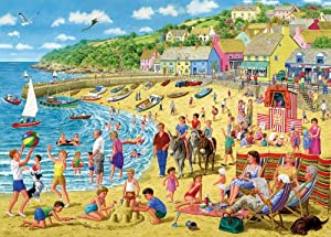 Gibsons 1000 Pieces Sun and Sandcastles Jigsaw Puzzle