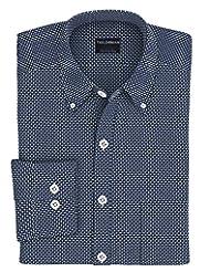 Tailorman Men's Giza Cotton Printed Shirt (Tradewick)