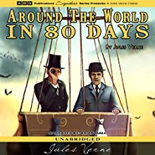 Around the World in 80 Days (       UNABRIDGED) by Jules Verne Narrated by Brian Hall