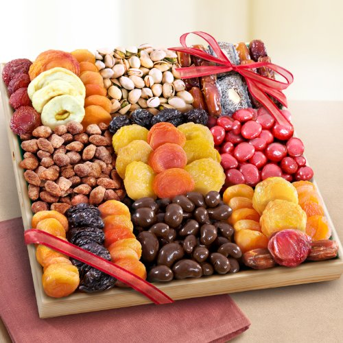 Valentines Day Grand Dried Fruit and Treats Tray