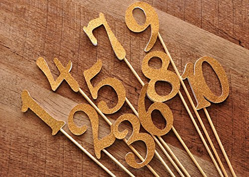 table-numbers-on-sticks-glitter-number-centerpiece-numbers-1-10