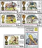 norte-Corea 1747-1752 (completa.edición.) matasellado 1978 ganadores Fútbol-WM 1930-78 (sellos para los coleccionistas)