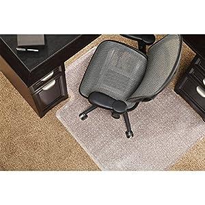 ES Robbins Hard Floor Chairmat Standard Lip Carpet Chair Mats