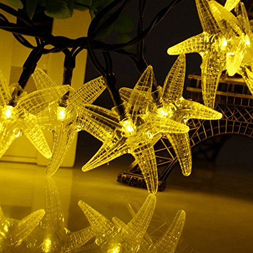 Solar String Lights For Trees : Escolite Solar String Lights Warm White Patio Outdoor Gardens Homes Trees Party eBay