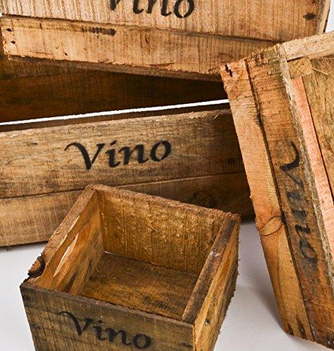 Holzkisten-5er-Set-Vino-Wein-Motiv-Vintage-Used-Design-Weinkisten-Landhaus-Kolonial
