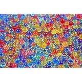18000 X Water Bullet Balls Gun Pistol Toys Crystal Soil Water Beads Mud (Soaked Diameter 10 Mm) Cj448