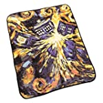Doctor Who Throw Blanket - Exploding...