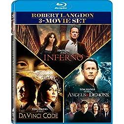 The Angels & Demons / Da Vinci Code / Inferno - Set [Blu-ray]