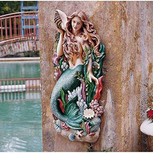 Park Avenue Collection Melodys Cove Mermaid Plaque (Italian Wall Fountain compare prices)