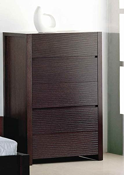 Etch Bedroom Chest in Wenge Finish