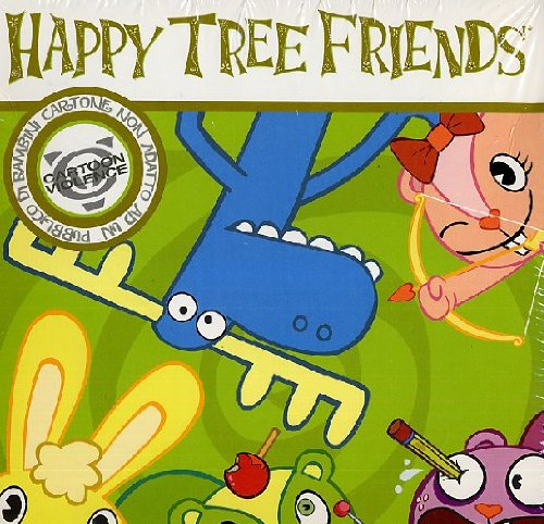 Happy Tree Friends - Stagione 01 (Gold Edition) (4 Dvd+T-Shirt)