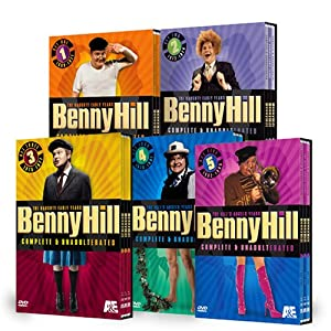 The Benny Hill Collection Sets 1-5