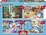 Doraemon - 4 puzzle progressivo 50 x...