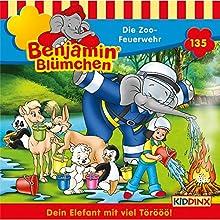 Die Zoo-Feuerwehr (Benjamin Blümchen 135) Hörspiel von Vincent Andreas Gesprochen von: Jürgen Kluckert, Ulrike Stürzbecher, Roland Hemmo, Gunter Schoß