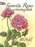 Favorite Roses Coloring Book