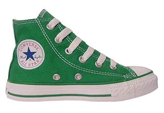 green converse hi tops