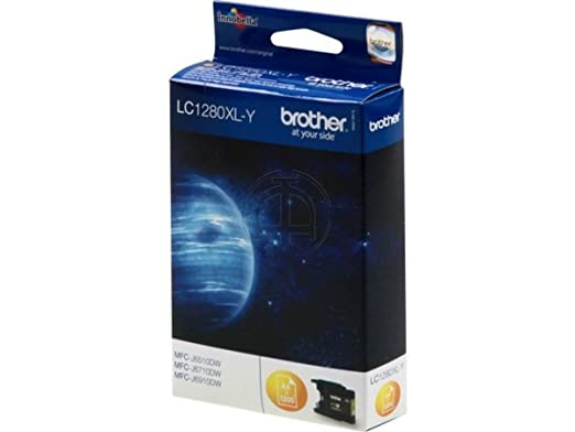 Brother MFC-J 6510 DW (LC-1280 XL Y) - original - Ink cartridge yellow - 1.200 Pages