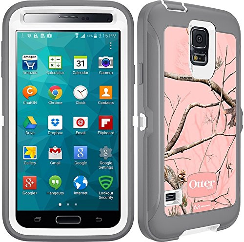 Otterbox Defender Series Realtree for Samsung GALAXY S5 - Camo - AP Pink