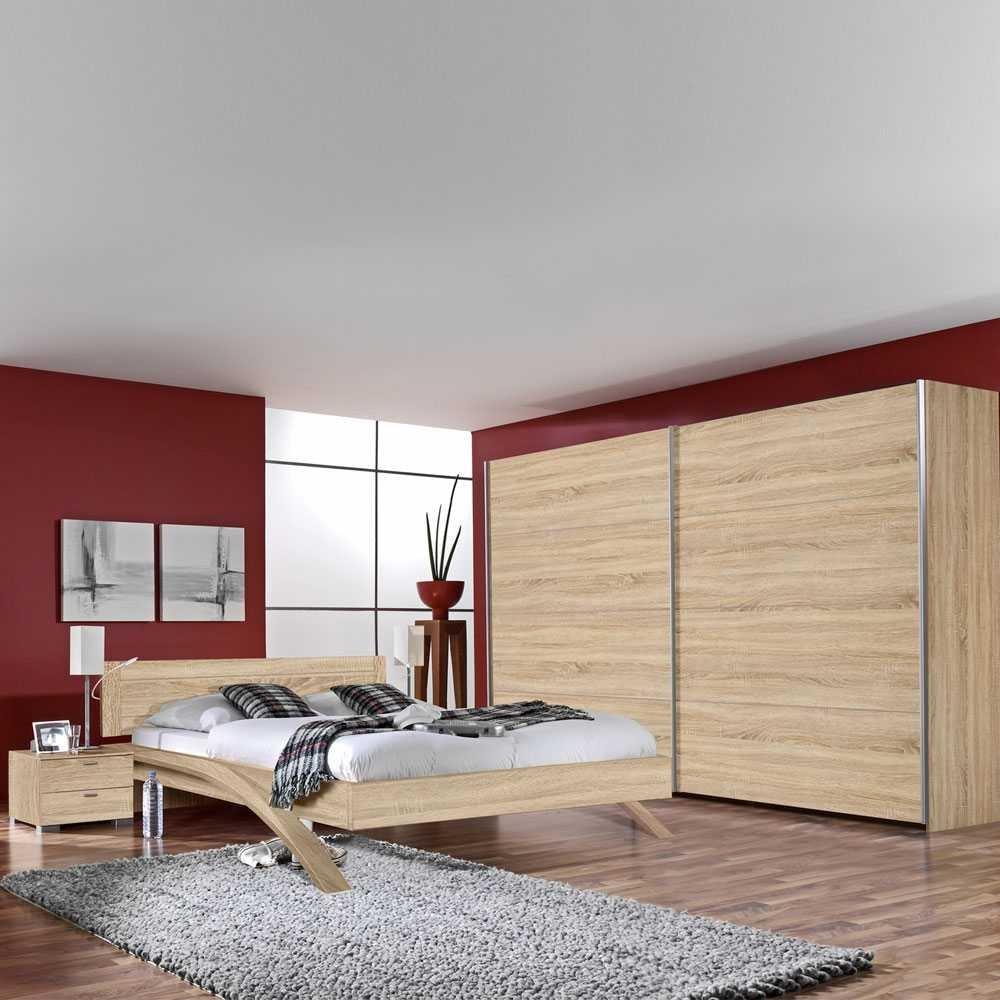 Komplett Schlafzimmer Felictas in Eiche Dekor (4-teilig) Pharao24 jetzt kaufen