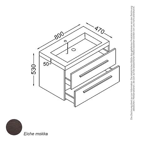 Madrid–Set 80cm Mokka
