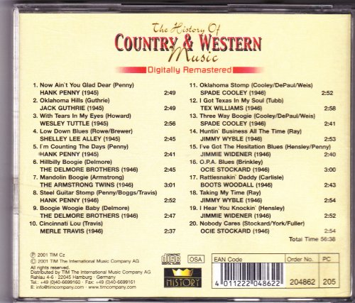 Various Artists - The History of Country & Western Music - Zortam Music