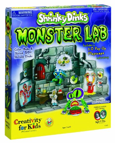 Creativity for Kids Shrink Fun Monster Lab