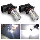 YINTATECH 2 X 9006 HB4 High Power LED 80W NEW Ultra White Fog Light Driving Lamp Bulbs (Color: White, Tamaño: HB4 White 6000K)
