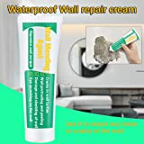 Wall Mending Agent - Waterproof Wall Repair Cream Wall Crack Nail Area Repair Agent,Instantly Seal and Repair Broken Surfaces Mending Agent (Green) (Color: Green, Tamaño: One Size)