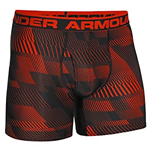 Under Armour Men's The Original 6-inch Printed Boxerjock Boxer Brief, Volcano/Black, XLarge
