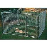 Stephens Pipe & Steel Dks11010 Dog Kennel, 10'x10'x6'